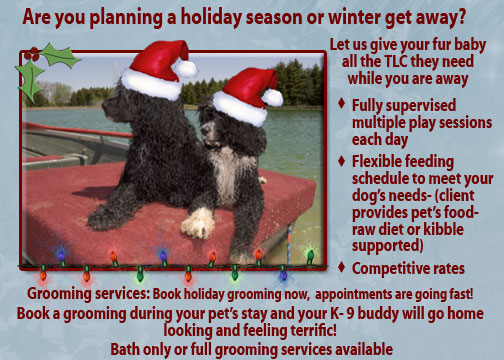 Copyright © 2008-2014. All rights reserved 4 Paws Training Boarding Grooming